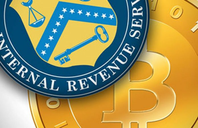 IRS Eyeing Up Bitcoin Gains