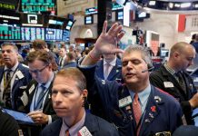 Wall Street drops on trade worries, Rosenstein news
