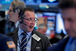 Wall Street rises on U.S.-Mexico trade deal