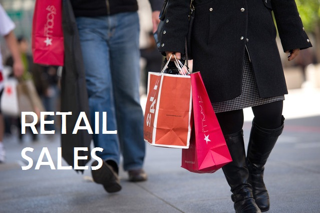 Can the upcoming retail sales data stop the US dollar decline for this week?