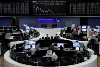 Tech Sector Depresses European Shares on Busy Earnings Day