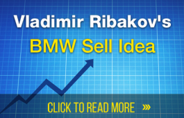 BMW Updates and Follow Up Provides Sell Opportunity