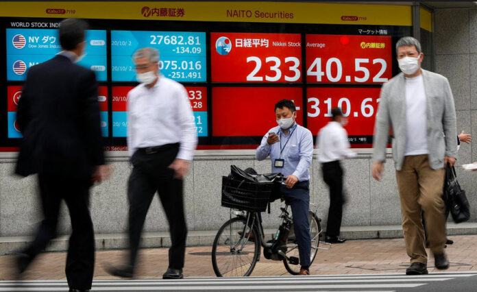 Biden Win Lifts World Stocks To Record Peak; Dollar Fades