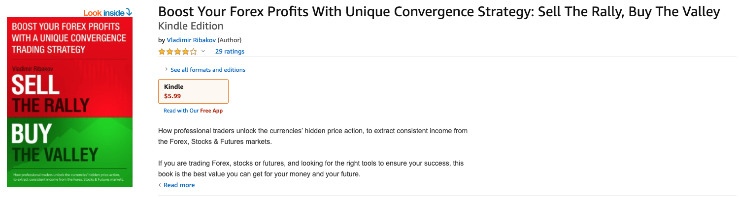 Boost Your Forex Profits With Unique Convergence Strategy - Sell The Rally, Buy The Vally by Vladimir Ribakov