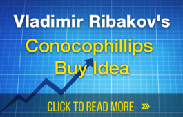 Conocophillips Buy Opportunity Forming