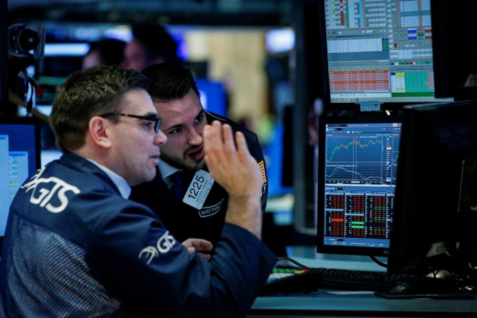 Dow, S&P turn lower as tariffs weigh on industrials