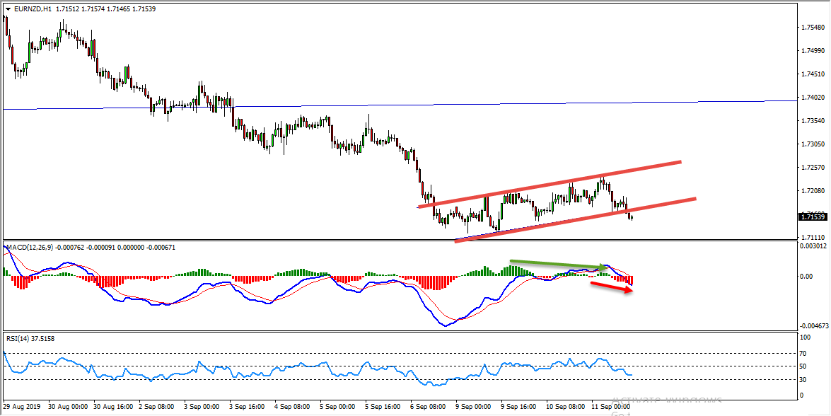 EURNZD Bearish Flag Provides Sell Opportunity