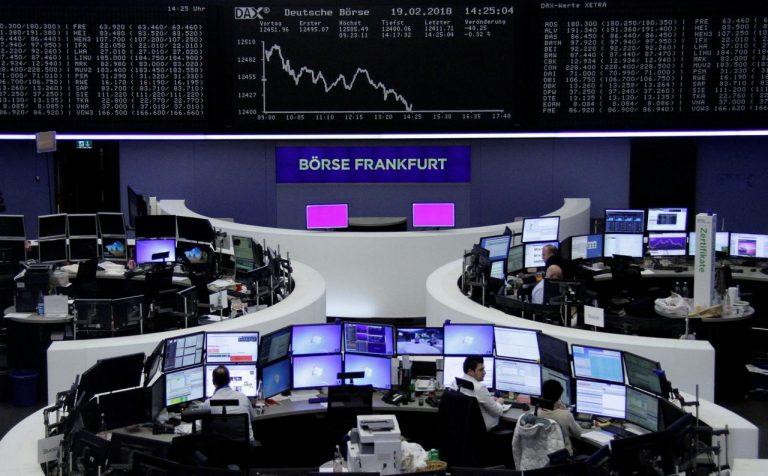 Global stocks break recovery streak with U.S. and China closed
