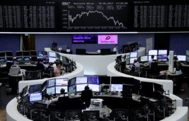 Global markets: European shares start third quarter firmer, dollar gains