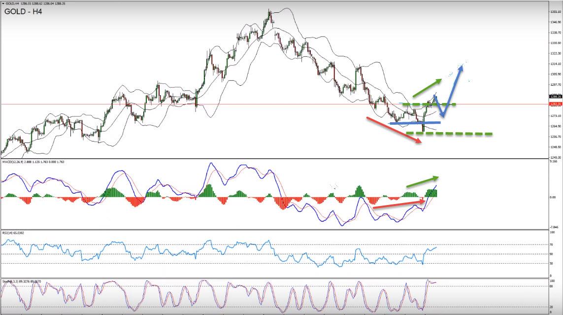 Amazing Gold Buy Setup Forming