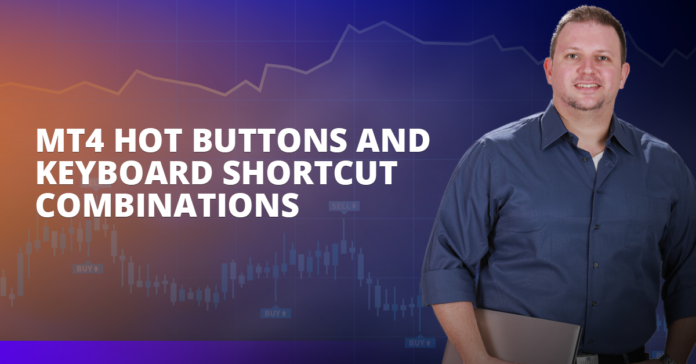 MT4 Hot Buttons And Keyboard Shortcut Combinations