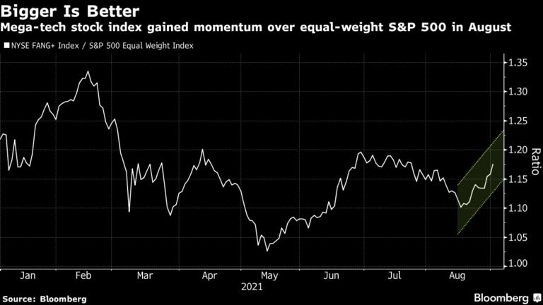 Megacap Stocks Trade at Record After Economic Data: Markets Wrap