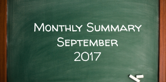 Monthly Summary September 2017