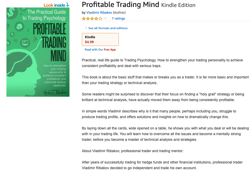 Profitable Trading Mind by Vladimir Ribakov