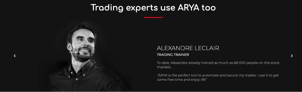ARYA Trading Reviews