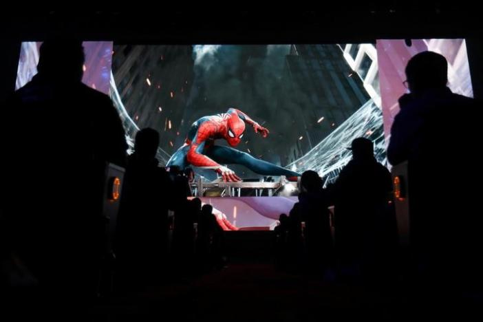 Sony unveils new 'Spider-man' game at E3 expo