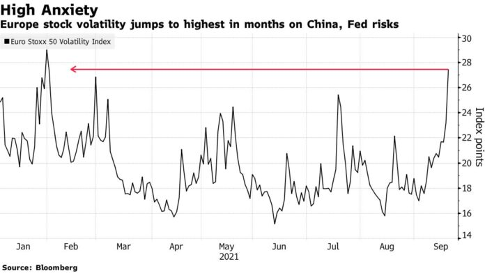 Stock Rout Deepens on China, Fed; Treasuries Gain: Markets Wrap