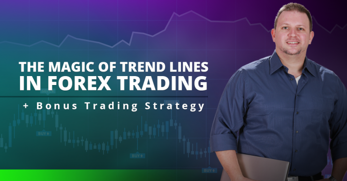 The Magic Of Trend Lines In Forex Trading + Bonus Trading Strategy
