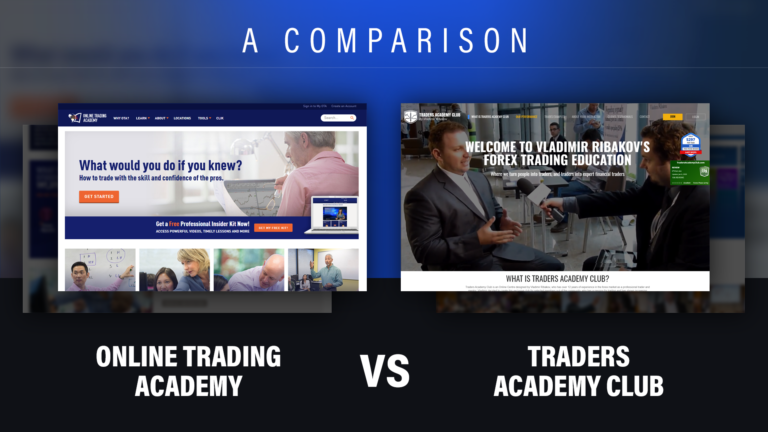 Online Trading Academy v.s. Traders Academy Club | Best Forex Trading Lessons