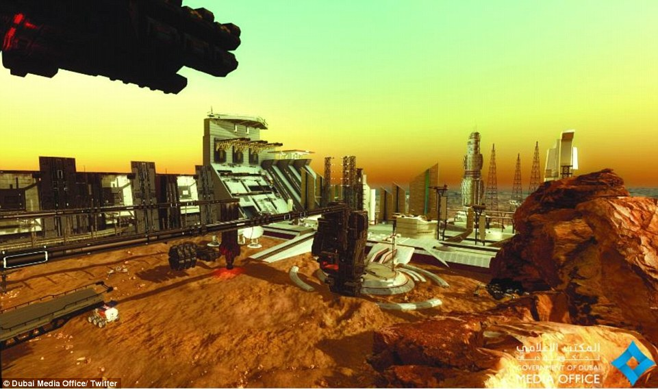The UAE's ambitious plan to build a new city on Mars