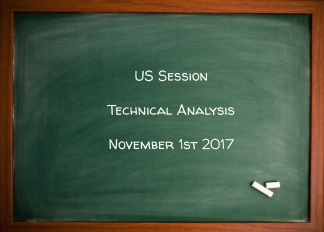 US Session Technical Analysis November 1st 2017