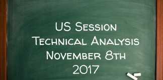 US Session Technical Analysis November 8th 2017