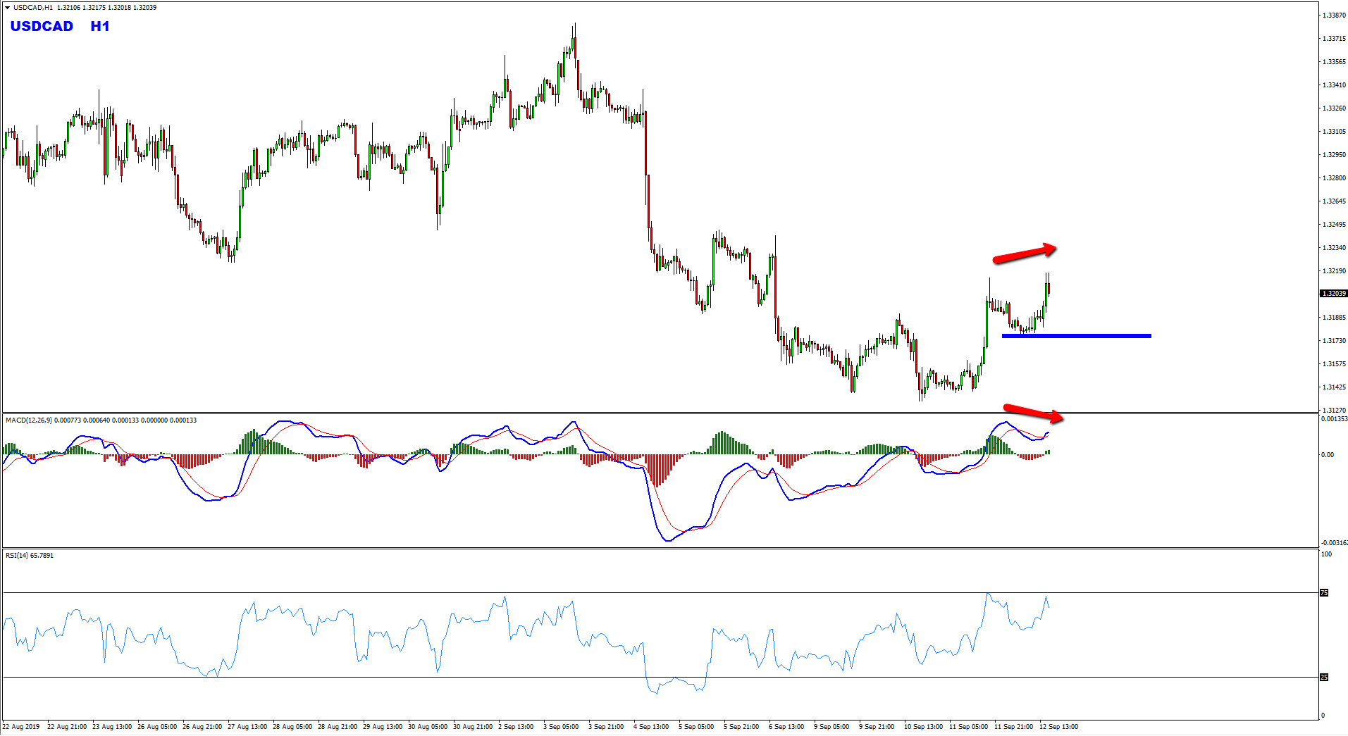 USDCAD Sell Structure Forming At The Moment