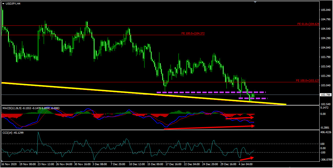 USDJPY Forecast And Technical Analysis