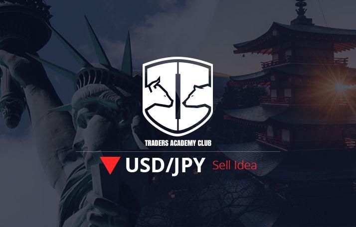 فكرة للتداول – إعداد زوج العملات USDJPY على أساس الاختلاف الهابط الخفي