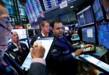 Wall Street Dips As Caution Sets In Ahead Of Trade Talks