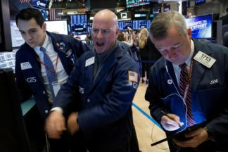 Wall Street Hits Record High On Energy, Tech Boost