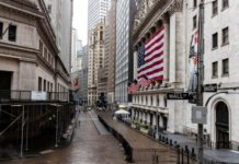 Wall Street Gains As U.S. States Start To Reopen