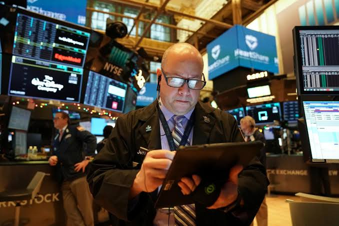 Wall Street Slips From Record Levels As Traders Book Profits