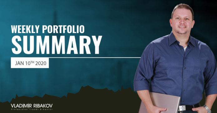 Weekly Portfolio Summary January 10th 2020