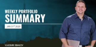 Weekly Portfolio Summary January 31st 2020