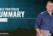 Weekly Portfolio Summary June 21st 2019