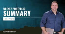 Weekly Portfolio Summary October 11th 2019