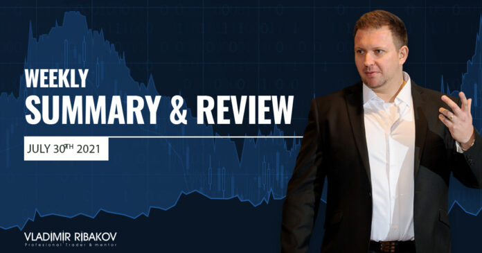 Weekly Summary And Review July 30th 2021