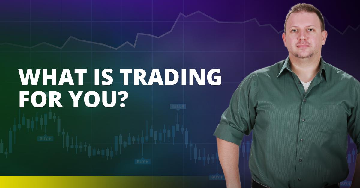 What is trading for you? - Vladimir Ribakov