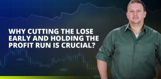 Why cutting the lose early and holding the profit run is crucial?