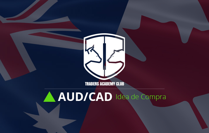 AUDCAD Configuración de Compra basada en Patrón de Bandera Alcista