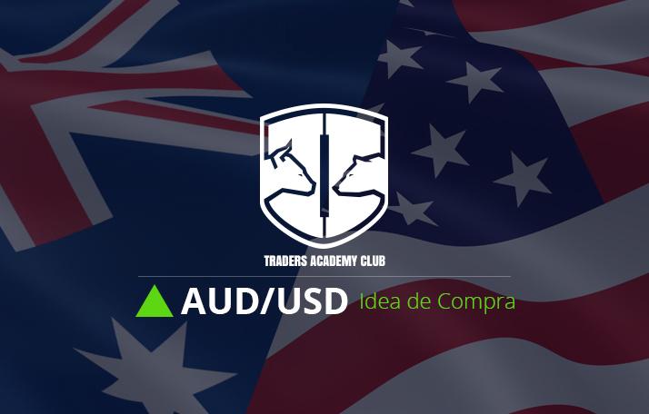 AUDUSD Soporte Fuerte Proporciona Configuración de Compra