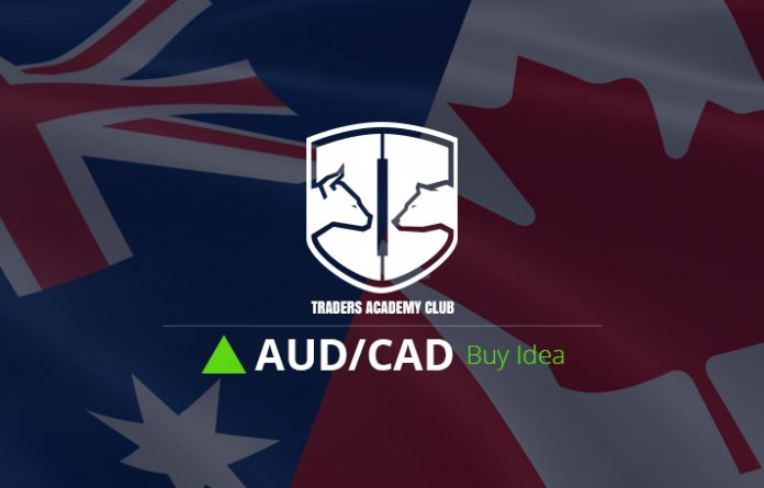 AUDCAD Buy Trade Setup Based On Bullish Flag Pattern