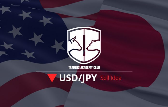 USDJPY Bearish Flag Provides Sell Opportunity