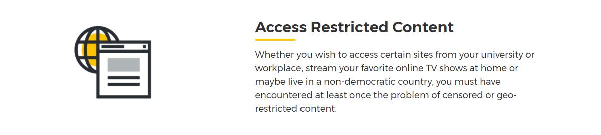 Unblock Restricted Internet Content