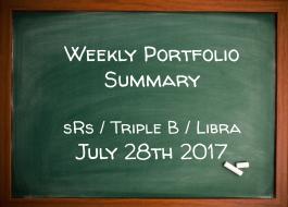 Weekly Portfolio Summary July 28th 2017