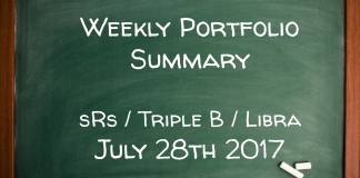 Weekly Portfolio Summary July 28th 2017