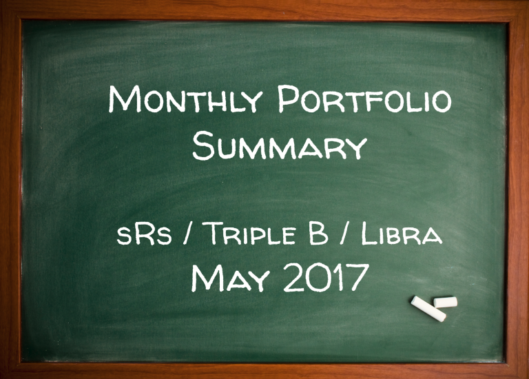 Monthly Summary (+20%) May 2017 – sRs Trend Rider 2, Triple B, Libra Code