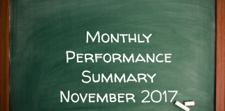 Monthly Performance Summary November 2017