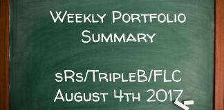 Weekly Performance Summary August 4th – sRs, Triple B, FLC